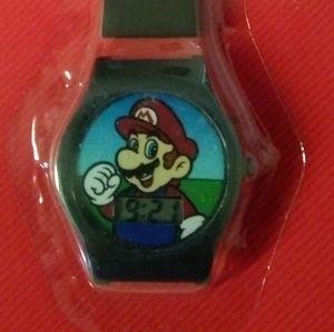 Super Mario Brothers kids wrist watch